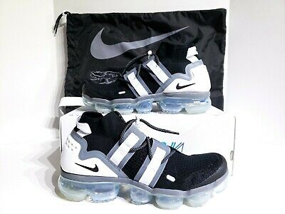 new styles 6a9d2 ebb50 Nike Air Vapormax FK Flyknit Utility Black Cool Grey White Ah6834 003 Size 9