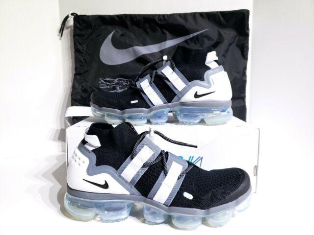 new styles 42e3b eeac0 Nike Air Vapormax FK Flyknit Utility Black Cool Grey White Ah6834 003 Size 9