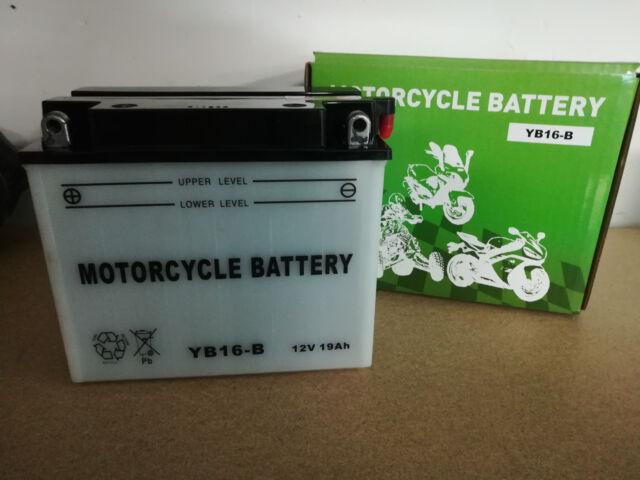Batterie moto YB16-B CB16-B 12V 19Ah
