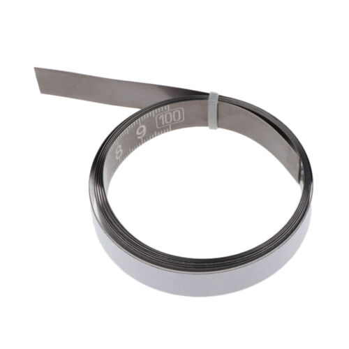 Miter Saw Track Tape Measure Self Adhesive Backing Metric Stainless Ruler 1//2//3M