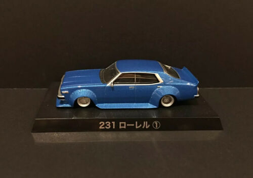 1//64 Aoshima Grachan BEST 2 NISSAN 231 LAUREL BLUE diecast car model