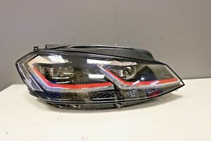 Genuine-Volkswagen-Golf-MK7-5-GTi-Frontale-Faro-Lampada-O-S-DRIVER-LED