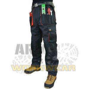 Royaume-Uni-BIB and Brace Overalls Homme Pantalons de Travail Pantalons Bib Pantalon Genou Pad Multi Poche