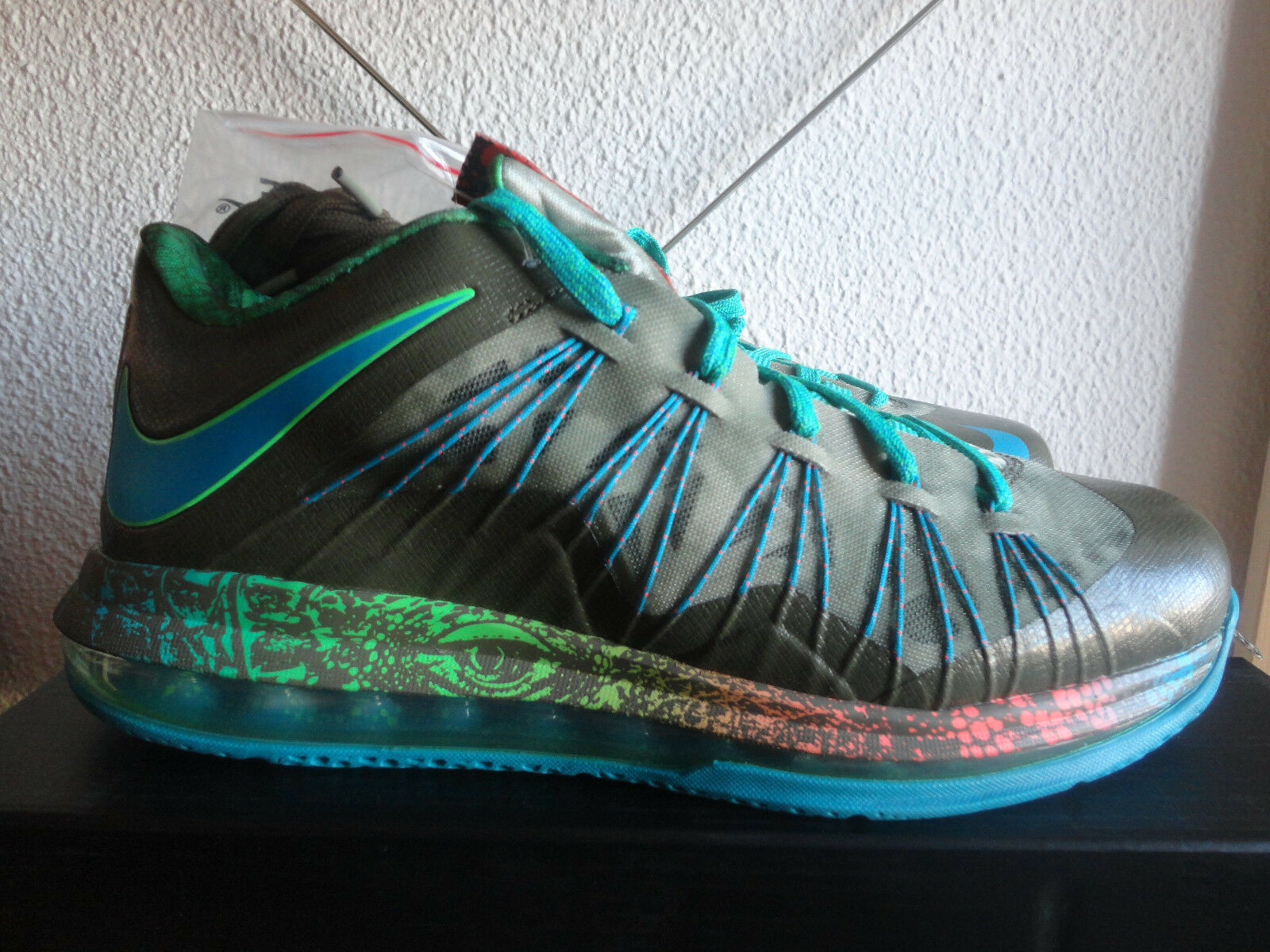 d650b925f4 NIKE AIR MAX LEBRON X 10 LOW SWAMP THING REPTILE DEAD STOCK 579765-301 US10