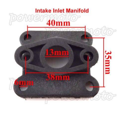 Intake Pipe Inlet Manifold For Mini Moto 47cc 49cc ATV Quad Pocket Pit Dirt Bike