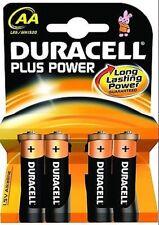 4 x Duracell Batterie Power Plus AA-LR6, MN1500, MIGNON, STILO
