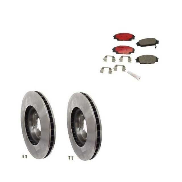Acura RSX 02-06 Type S Front Brake Rotors With Brake Pads