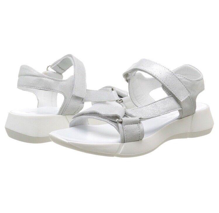 Women's Elizabeth Stuart Titien 415 Sandals In White Size Uk 4 - 4.5 New Rare