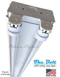 Details About New 4 Foot 5920 Lumens 44 Watt Led Shoplight Room Work Garage Light Fixture New