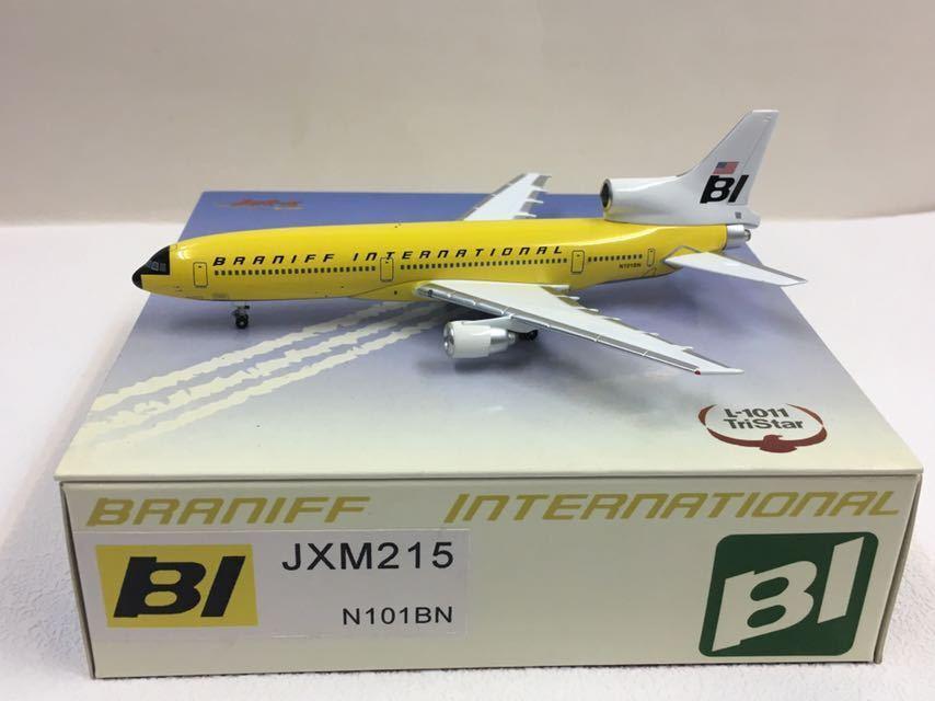 Jet-x 1 400 Braniff Internacional TriEstrella L-1011 Amarillo Jellybean JXM215 N101BN