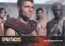 Spartacus Vengeance Episode Synopsis Base Card E19