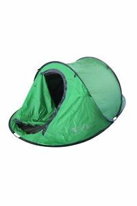 Mountain Warehouse 3 Person Pop Up Double Skin Tent 3 Man Festival Camping