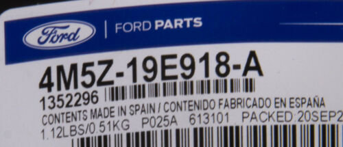 OEM NEW 2012-2018 Ford Focus Air Conditioner Compressor Kit Shield 4M5Z19E918A