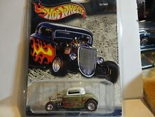 Hot Wheels Cruisin America Gold '32 Ford w/Real Riders
