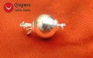 10mm Sterling Silver(s925) Round Ball One Strings Clasp Accessories For Jewelry