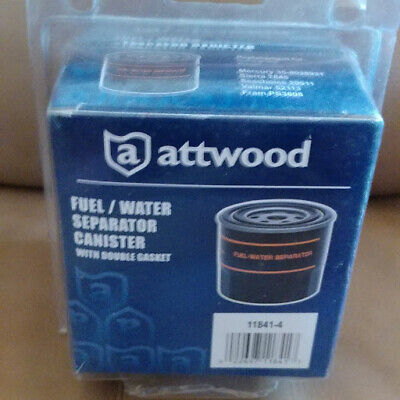 Attwood 11841-4 FUEL//WATER CANISTER