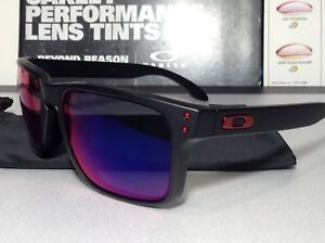 893a81608c Oakley Holbrook Matte Black w  Positive Red Iridium - SKU  9102-36 ...