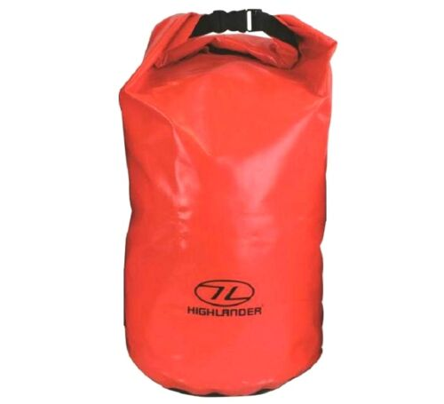44 LTR XL DRY BAG trilaminate tough survival pack waterproof sack Bright Orange