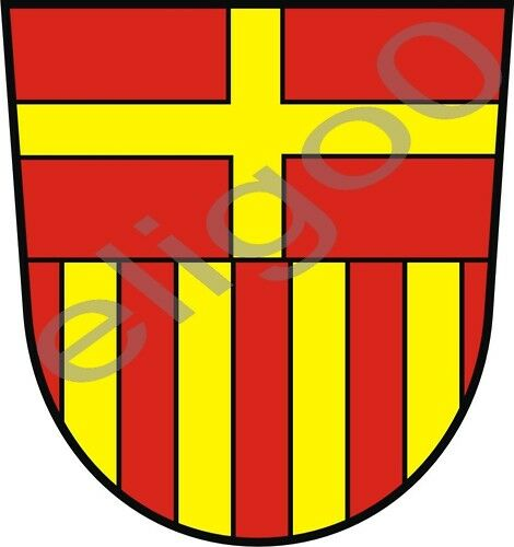 1x Sticker Paderborn Crest Germany
