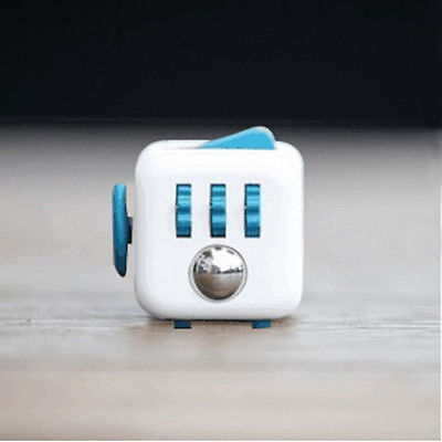 Hot Fidget Cube Anxiety Stress Relief Focus 6side Dice For Adults Child In Stock