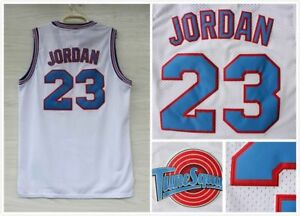Image is loading Space-Jam-Tune-Squad-Basketball-Sewn-Jersey-Michael-