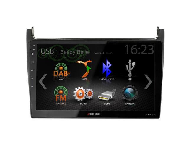 For VW Polo 6C Car Radio GPS UKW DAB+ USB Bluetooth Apple Carplay