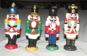 Nutcracker-Candles-FOUR-4-034-Unused