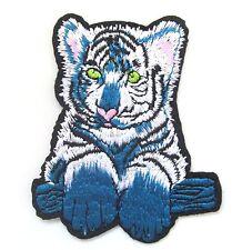 Tiger Cub Iron On Patch- Cat Animal Baby Safari Jungle Badge Applique Crafts