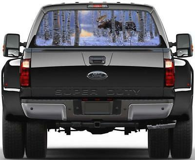 OPTIMUS VS MEGATRON Car Rear Window Decal Sticker Truck SUV Van Transformers 124