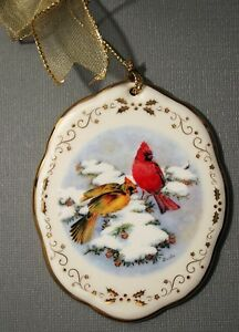2003-Christmas-Boehm-Northern-Cardinals-in-Winter-Ornament-Boehm-Home-Interiors