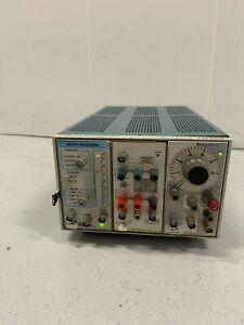 Tektronix TM503 Mainframe/MR101 Receiver/AM501 Operational Amp/FG503 Function Ge