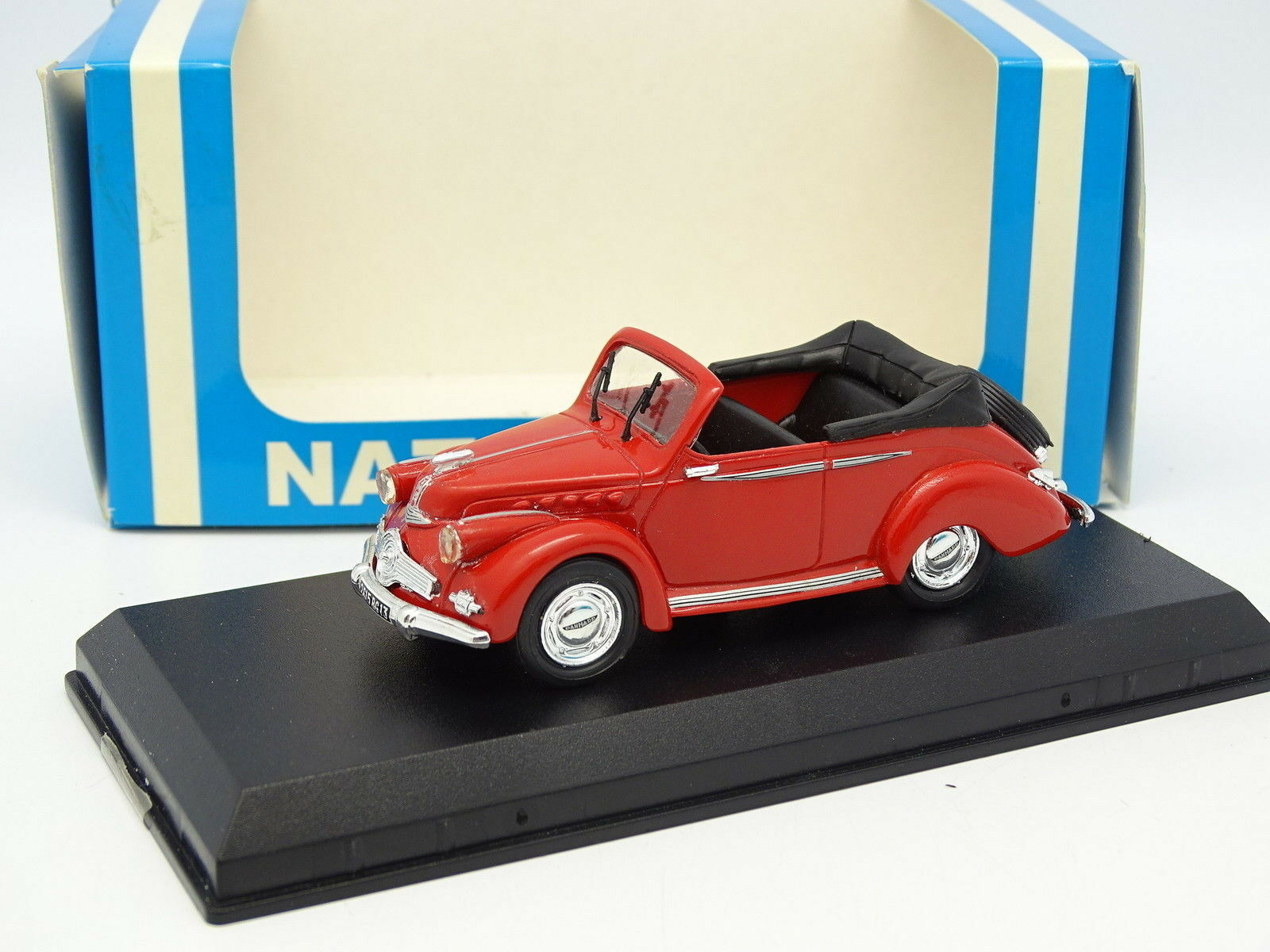 Starter N7 Provence Résine Résine Résine 1 43 - Panhard Dyna X Cabriolet Rouge ba4069