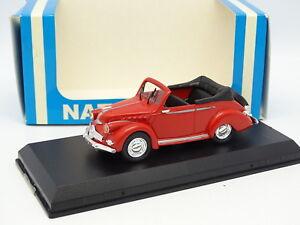Starter-N7-Provence-Resine-1-43-Panhard-Dyna-X-Cabriolet-Rouge