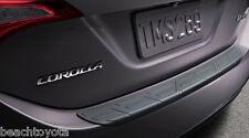 Toyota Corolla 2014-2017  PVC Rear Bumper Protector Genuine OEM NEW! PT278-02140