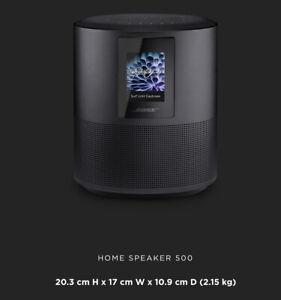500 bose home speaker