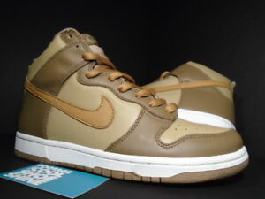 Europe Euro Maple White Wheat Brown Hay Taupe Dunk Nike 8 304717 222 5 2003 High 1CTvzqn