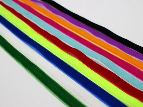 "3//8/"" Velvet Ribbon Gift Bow Wedding Pick Your Color 10 Meter 32.8 Feets 10mm"