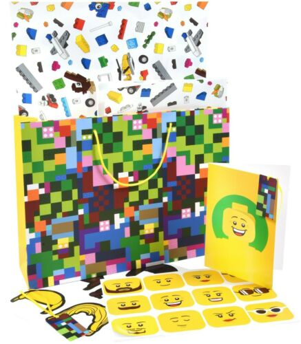WRAPPING PAPER Set 5006008 Bundle of 6 x of LEGO EXCLUSIVE VIP GIFT BAGS