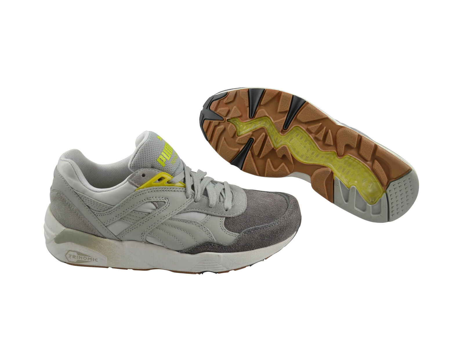 Puma R698 Blocks and Stripes Wn's gray violet Schuhe/Sneaker 358069 03