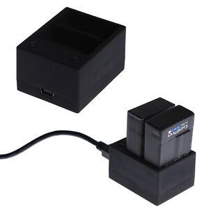 GoPro-Zubehoer-Dual-Akku-USB-Ladegeraet-Reiseladegeraet-fuer-GoPro-Hero-3-Hero-3
