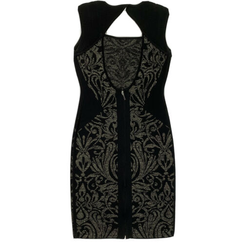 MARCIANO by Guess Metallic Glitter Dress Size Smal