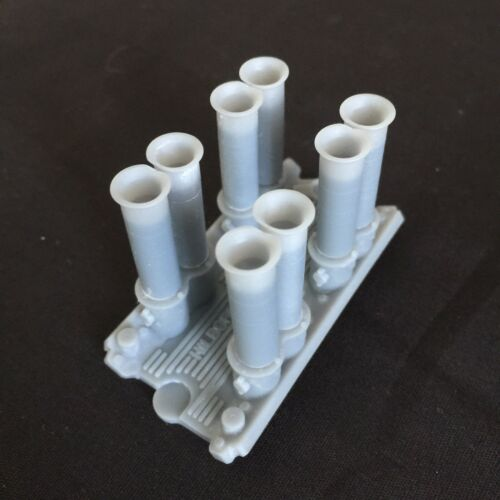 1:25 3d Printed SLA resin Hilborn intake manifold