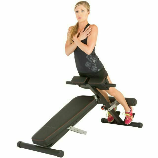 Fitness Reality 2860 Reality X Class Light Commercial Abdominal Hyper Back Extension Bench Black For Sale Online Ebay