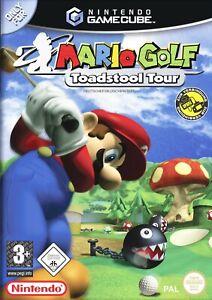 Nintendo-GameCube-Spiel-Mario-Golf-Toadstool-Tour-DE-EN-mit-OVP