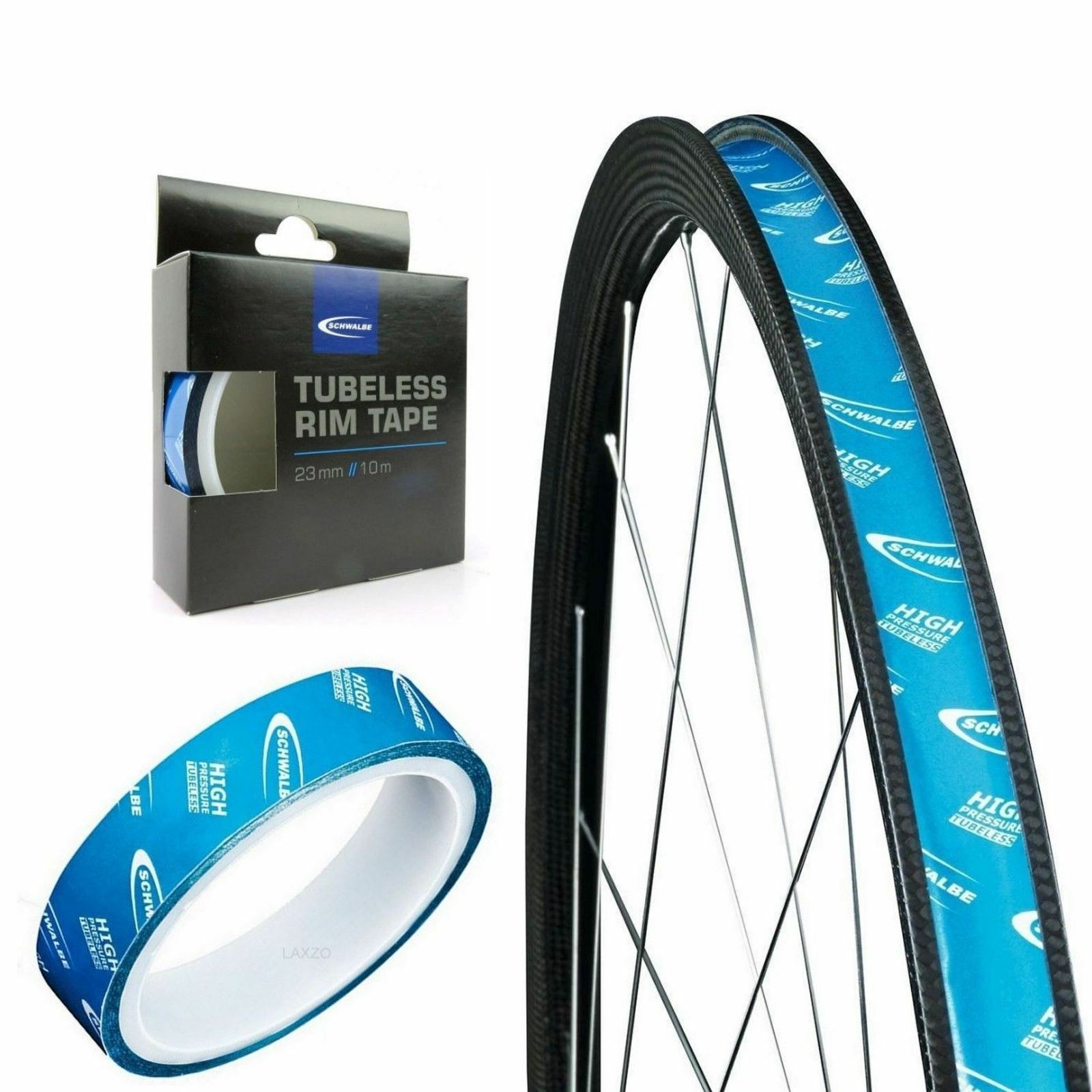 Schwalbe High pressure Tubeless Rim Tape 29mm 10m Roll Bicycle Wheel rim