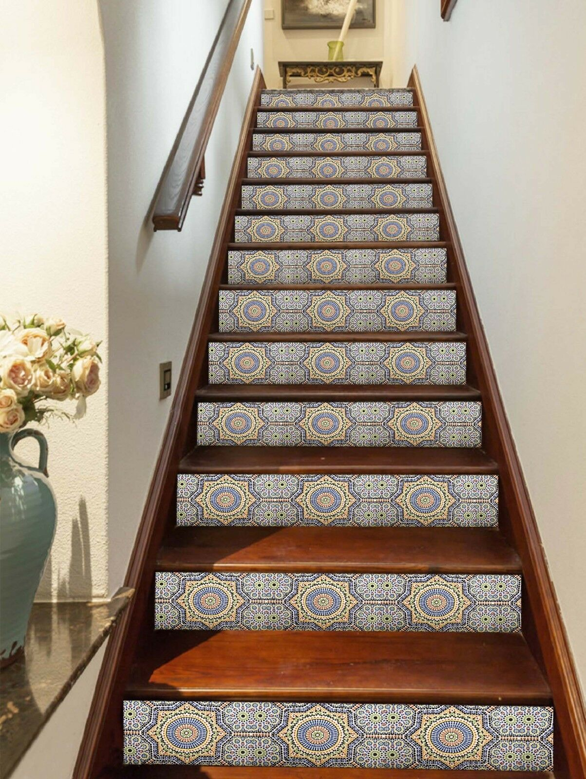 3D Pattern 571 Stair Riser Decoration Photo Mural Vinyl Decal WandPapier UK Lemon