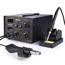Soldering Rework Station Digital Solder Iron SMD +Hot Air Gun Welder YIHUA 852D+