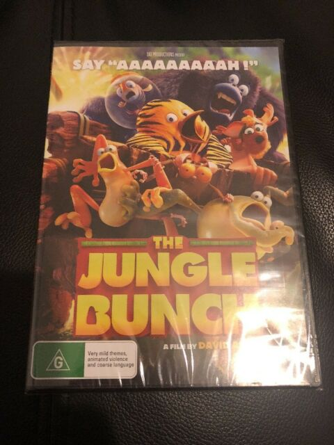 The Jungle Bunch (DVD, 2018) Rated G Movie 🍿 Brand New & Sealed Free Postage