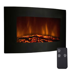 """'35"""" XL Large 1500W Adjustable Electric Wall Mount Fireplace Heater W/Remote New' from the web at 'https://i.ebayimg.com/images/g/TF0AAOSwkZhWRCZv/s-l225.jpg'"""