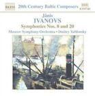 Ivanovs: Symphonies Nos. 8 & 20 (CD, Feb-2004, Naxos (Distributor))